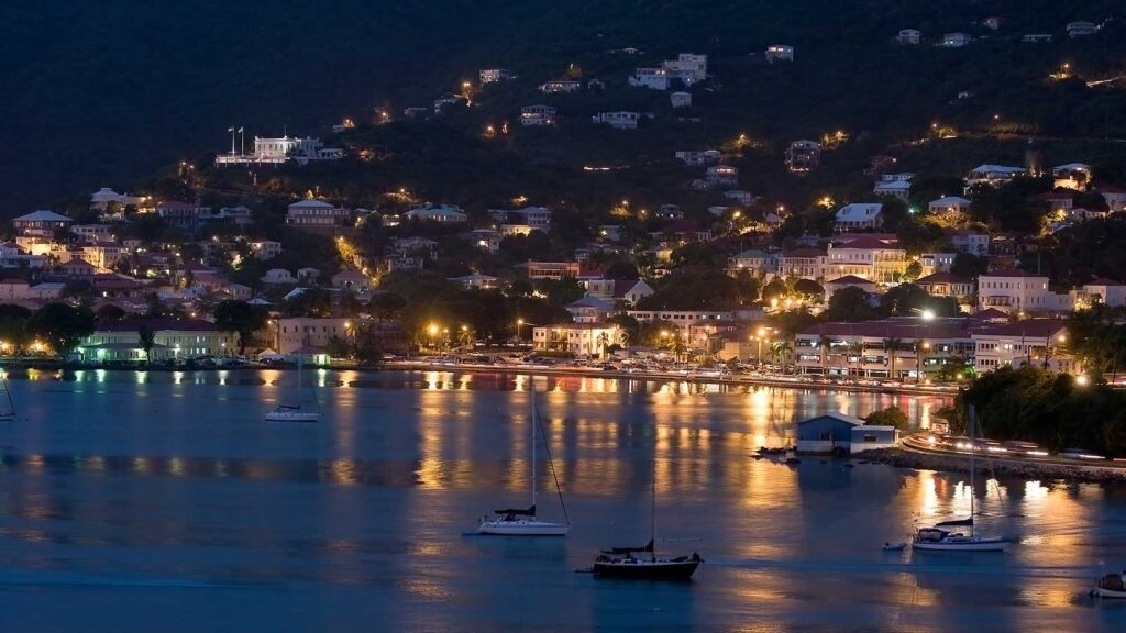 St Thomas Night View