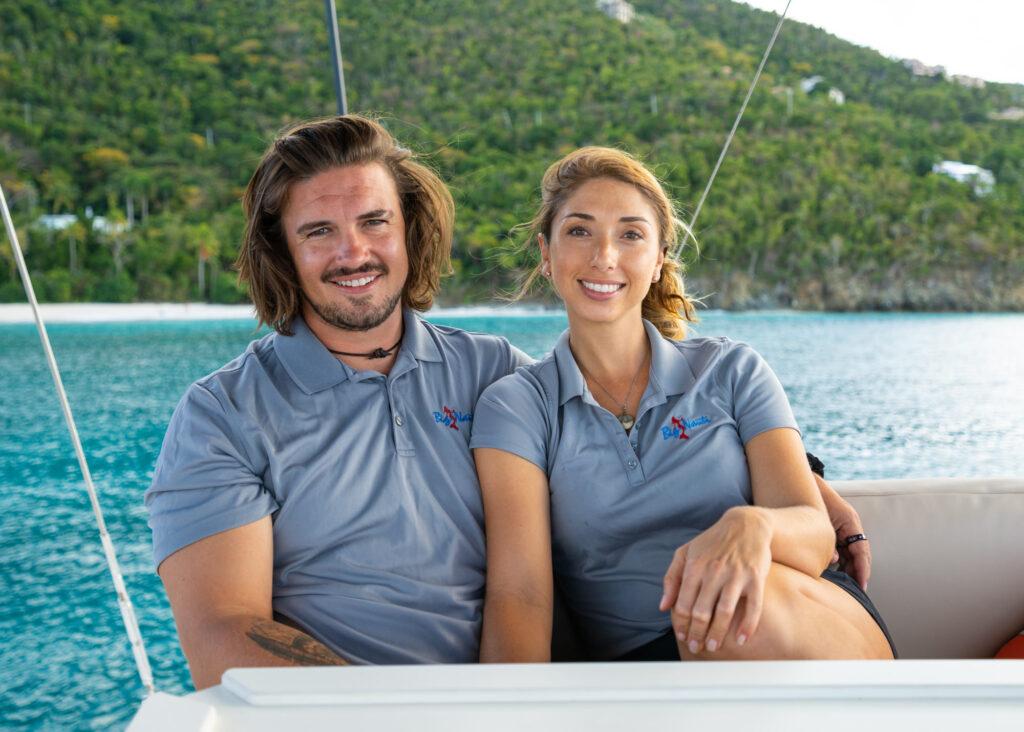 Crew Big Nauti Catamaran Crewed Charter Caribbean